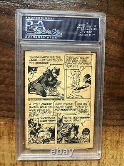 1974 Lee Meriwether Catwoman Batman Signed Warner Brothers (PSA/DNA Slabbed)