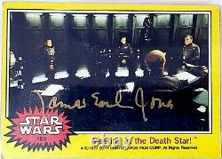 1977 TOPPS JAMES EARL JONES Signed DARTH VADER Card SLABBED PSA/DNA #83529271