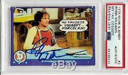 1978 Topps Mork & Mindy ROBIN WILLIAMS Signed Autograph Card #3 PSA/DNA Slabbed