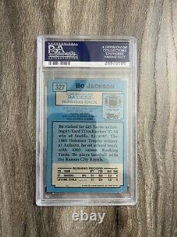 1988 Topps Bo Jackson Autograph Rookie PSA/ DNA Auto 10 Raiders Slabbed