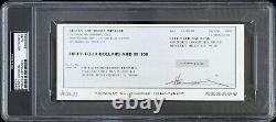 1990 Henry Winkler The Fonz Signed Check (PSA/DNA Slabbed)