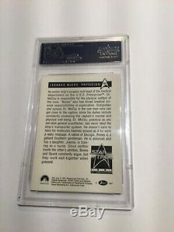 1991 Paramont Signed PSA/DNA Slabbed Star Trek Card Deforest Kelley