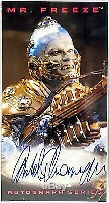 1997 Skybox Batman & Robin Signed Card Set Schwarzenegger +5 PSA/DNA SLABBED