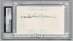 Ben Hogan Golf Legend signed cut signature PSA/DNA Slabbed Full W Ben Hogan auto