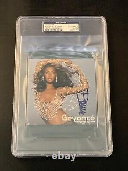 Beyonce Knowles Signed Dangerously Autograph CD Psa Dna Coa Slabbed Encap