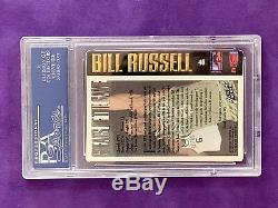 Bill Russell Signed Auto Slabbed Card PSA/DNA 81996195