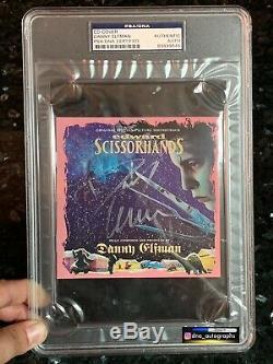 Danny Elfman Signed Edward Scissorhands CD Soundtrack Slab Psa/dna Coa 2