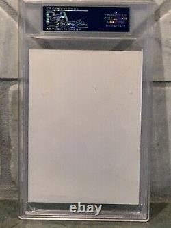 Donald Pleasence HALLOWEEN Dr. Loomis Signed Autograph 3.5 x5 Photo PSA DNA Slab