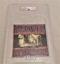 EDDIE VEDDER Signed / Autographed Pearl Jam Temple of the Dog CD PSA/DNA Slabbed