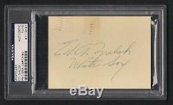 Ed Walsh Signed 1957 GPC-PSA/DNA Slabbed-Baseball Hall of Fame-Chicago White Sox