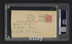 Elston Howard Signed 1955 GPC-PSA/DNA Slab-New York Yankees Rookie Year D-1980