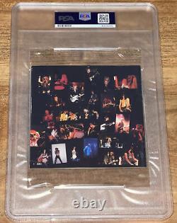 Guns-n-roses Slash Steven Adler Signed Appetite For Destruction CD Psa/dna Slab