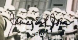 JAMES EARL JONES Signed STAR WARS Darth Vader Photo PSA/DNA SLABBED Authentic