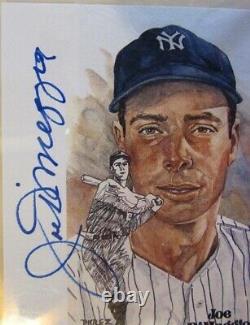 Joe Dimaggio signed CUT signature -PSA/DNA slabbed NY Yankee Hall of Fame