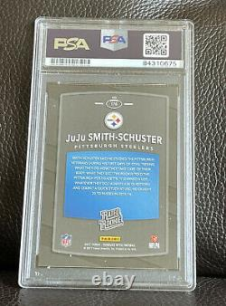 Juju Smith-Schuster Signed 2017 Donruss Optic Rated Rookie Card Psa/Dna Slabbed