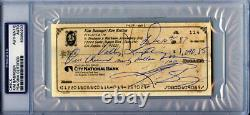 Kim Basinger Signed 1987 Personal Check Autographed PSA/DNA Slabbed