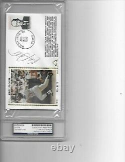 Kirby Puckett Signed Autographed FDC Gateway Cachet Slabbed PSA/DNA Ten Hits 87