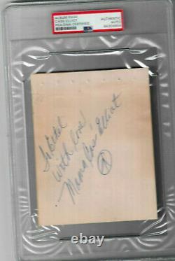 MAMA CASS ELLIOT SIGNED album page PSA/DNA slabbed authentic RARE