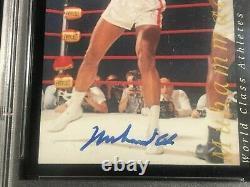MUHAMMAD ALI 1992 Classic AUTOGRAPH on Card PSA DNA Slabbed #d /2500 AUTO
