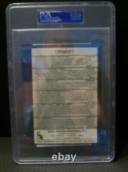 Mickey Mantle Signed The 500 Home Run Club Ad Card! PSA/DNA COA Slabbed! Rare
