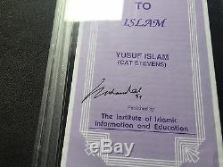 Muhammad Ali Rare! Signed How I came to Islam pamphlet PSA/DNA cert slabbed