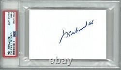Muhammad Ali Signed Cut Signature Psa Dna Slabbed 84233248 (d) Goat