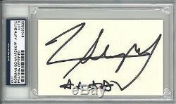 Norman Schwarzkopf Signed Cut Signature Psa Dna Slabbed 84090525 (d)