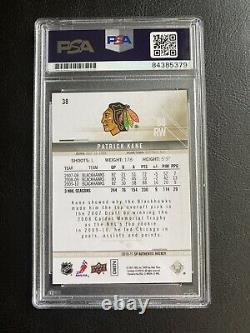 Patrick Kane AUTOGRAPH AUTO SIGNED PSA/DNA Slabbed 2010-11 SP Authentic Card