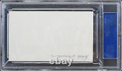 Pirates Roberto Clemente Authentic Signed 1x4.25 Cut Signature PSA/DNA Slabbed