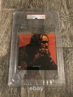 Post Malone Signed Stoney CD Psa/dna Coa Encapsulated Rapper Slabbed Posty