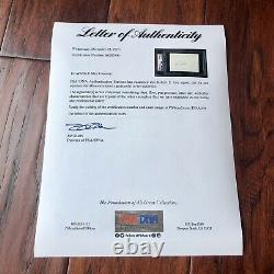 ROBERT E. LEE PSA/DNA Slabbed Confederate General Signed Autograph Signature