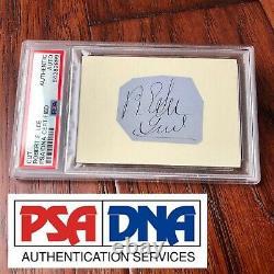 ROBERT E. LEE PSA/DNA Slabbed Signed Autograph Handwritten Rank as General