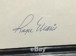 Roger Maris Yankees Cardinals Signed 3x5 Index Card Autograph Psa/dna Slabbed