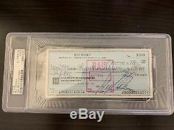 Roy DeMeo Signed/Autograph Check John Gotti Gambino Mafia Mob PSA/DNA Slabbed