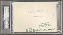 The Beatles PAUL McCARTNEY Signed Autographed Candid Photo Slabbed PSA/DNA & JSA