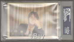 The Beatles PAUL McCARTNEY Signed Autographed Candid Photo Slabbed PSA/DNA & JSA