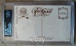 Vintage Cy Young Signed Cut Auto Slabbed Postcard 9,643/10,000 Psa Dna Gem Mint