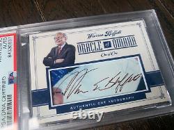 Warren Buffett Signed Autographed Custom Card Auto PSA DNA Authenticated Slab